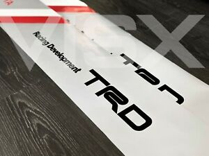 Trd Off Road Toyota Racing Development Vinyl Decal Sticker Windshield Banner