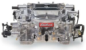 Edelbrock 1812 Thunder Avs 800 Cfm Manual Choke Carburetor