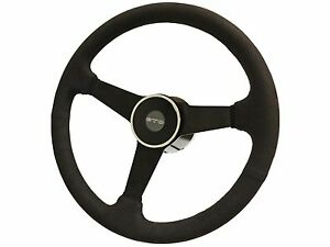 1969 1973 Pontiac Gto S6 Ultra Suede Steering Wheel Deluxe Kit Solid 3 spoke