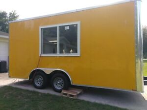 New 2019 8 5 X 16 Customized Food Concession Trailer