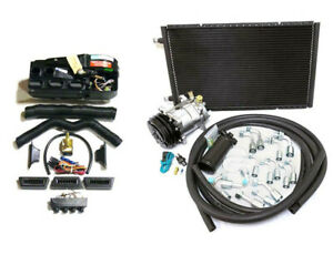 Gearhead Ac Heat Defrost Air Conditioning Compac Kit W Compressor Hoses Vents