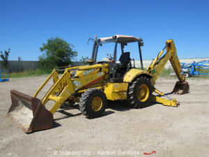 Backhoe Tractor In Stock   JM Builder Supply and Equipment Resources