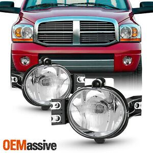 Fit 2002 2008 Dodge Ram 1500 2003 2009 Dodge Ram 2500 3500 Pickup Fog Lights