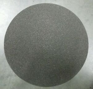5 Sheets Round 12 Grit 80 Sand Paper Silicone Carbide Grinding Disc Waterproof