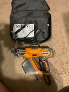 Drywall And Deck Collated Screwdriver Corded Screw Gun Ridgid R6791