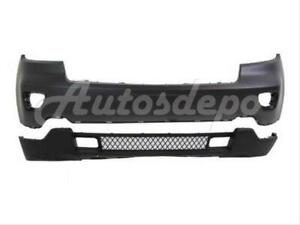 For 2011 2013 Jeep Grand Cherokee Front Bumper Upper Lower W O Adapt Sensor