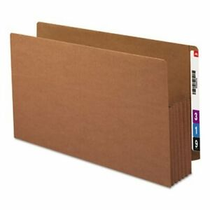 Smead 5 1 4 Expansion File Pockets Legal Red 10 Per Box smd76194