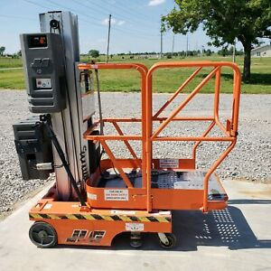 2002 Jlg 12sp Personnel 18 Working Height Manlift Lift Scissor Order Picker
