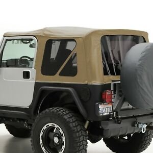Smittybilt 9970217 in Stock Replacement Soft Top 97 06 Jeep Wrangler Tj