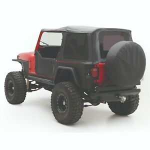 Smittybilt 9870215 In Stock Replacement Soft Top 87 95 Jeep Wrangler Yj