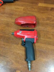 Red Snap On Tools Mg325 3 8 Drive Air Impact Wrench