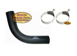 67 68 Camaro Ss 396 427 Lower Radiator Hose 3909868 With Correct Tower Clamps