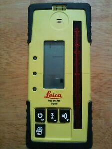 Leica Rod Eye 160 Receiver Rugby Laser Levels Working
