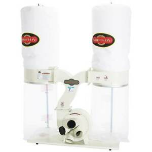 Shop Fox W1687 3 hp 2 800 Cfm Woodworking Dust Collector Collection System