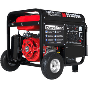 Durostar Ds10000e 10000 watt 440cc Gas Generator W Electric Start And Wheel Kit
