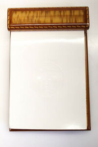 Hermes Lacquered Wood Rectangular Notepad Small