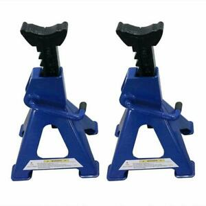 Adjustable Aluminum Racing Jack Stands 3 Ton Heavy Duty Car Truck Auto New