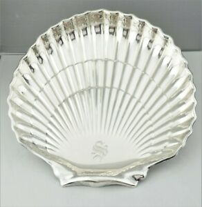 Gorham Sterling Silver Large Shell Footed Bowl Tray Dish Pattern 40617