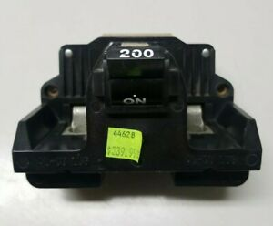 New Federal Pacific Fpe 200 Amp Main Breaker Type 2b 2 Pole Old Stock