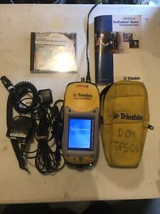 Trimble Geoxt 50950 20 Geoexplorer Pocket Pc With Accessories Works Great