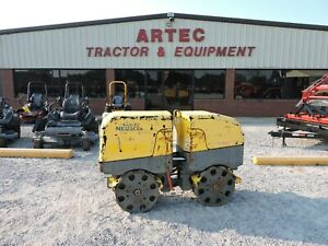 2010 Wacker Neuson Rt82sc Trench Compactor Watch Video Only 544 Hours