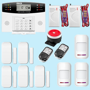 Gsm Smart Infrared Detector Sms Home Alarm Security System Water Leak Detector