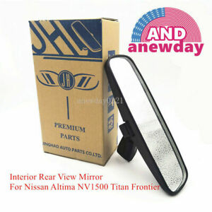 Jh Interior Rear View Mirror For Nissan Altima Nv1500 Titan Frontier 96321 2dr0a