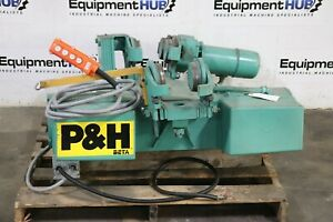 P H Harnischfeger Fb8c r4 2 Ton Electric Overhead Rope Hoist Trolley Crane
