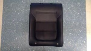 2014 14 Volkswagen Jetta Driver Rear Seat Back Cushion Only Black Leather 49979