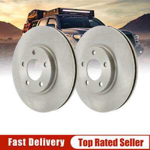 Front Brake Rotors Set Of 2 For 1970 1972 Plymouth Duster