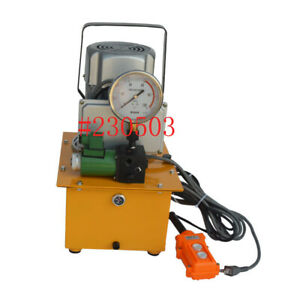 Top quality Electric Hydraulic Pump Power Pack 0 75kw Single Oil Circuit 10kpsi