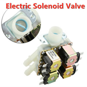 Dc 12v Dn20 G3 4 1 In 4 Out Plastic Electromagnetic Normally Closed Water Valve