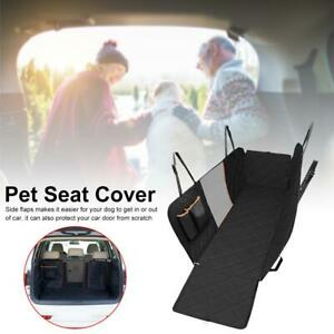Pet Car Seat Cover Dogs Cats Back Hammock Protector Mat Blanket Truck Cushion