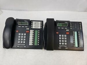Nortel Networks Desk Office Business Phone T7316 Charcoal