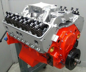 Chevy 406 488hp Smallblock Pro Street Engine Pump Gas Vette Camaro