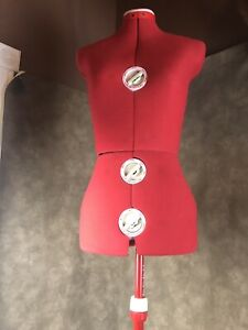 Vintage Singer Model 150 Dress Form 12 Dial Adjustable Size sewing