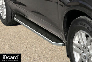 Iboard Polished Running Boards Style Fit 07 17 Chevrolet Traverse