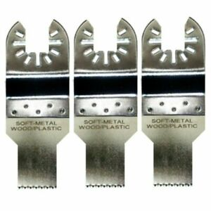 3 X 3 4 Fine Tooth Oscillating Tool Blades Bosch Multi x Compatible