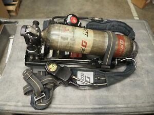 Scott Nxg7 Air pak 5 5 Harness Scba Cbrn Breathing Apparatus Pack 5500 Psi tank