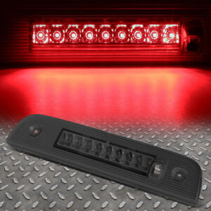 For 07 12 Dodge Nitro Led Third 3rd Tail Brake Light Stop Parking Lamp Smoked