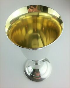 Lord Saybrook By International Sterling Silver Goblet Gold Wash Interior P664