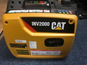 New Cat Portable Generator Inverter 1800 Watt Inv2000 quc004176