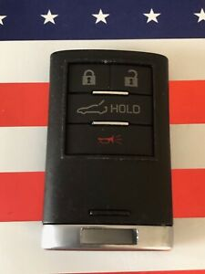 Used Corvette Smart Key Keyless Entry Remote Transmitter Gm 23465950 G09cd4
