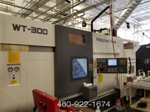 2006 Nakamura tome Wt 300mmy Cnc Lathe Dual Turret Sub Spindle Y axis Live Tool