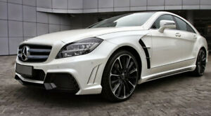 2011 2014 Mercedes Benz Cls W218 Full Wd Style Body Kit W Exhaust Tips