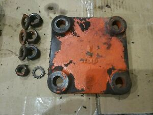Case Vac14 Tractor Belt Pulley Delete Cover With Bolts Late Vac Part Vt41