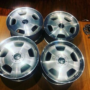 19 Lorinser Rsk3 3 Piece Monoblock Staggered Rims Mercedes S Class W140 C140