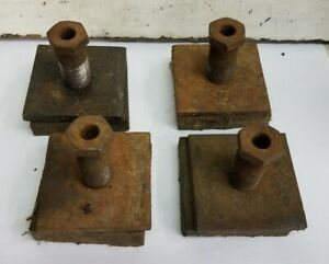 4 clausing 12 Lathe 5900 Leveling Screw Pad Plate