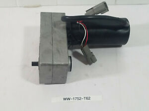 New Dc Gear Motor Unbranded With Plugins