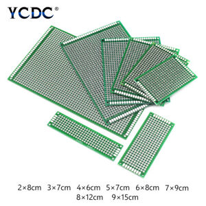 Double sided Pcb Circuit Board Prototype Breadboard For Arduino Diy Project